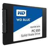 Disco Solido 250gb Wd Blue Ssd 2.5 Sata3 6gb/s - Smal Lan