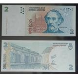 Billete 2 Pesos Convertibles 2° Diseño (2012). Bot. 3241
