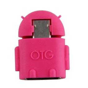 Adaptador Usb Celular Otg Tablet Para Pendrive Teclado Mouse