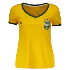 Camisa Super Bolla Brasil Torcedor 2018 Feminina de971f909df3b