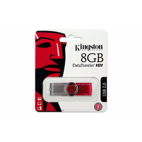 Kit 10 Un Pen Drive 8gb Datatraveler Kingston