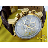 Invicta S1 Rally 16011 Cronometro - Banh Ouro 18k - 48mm