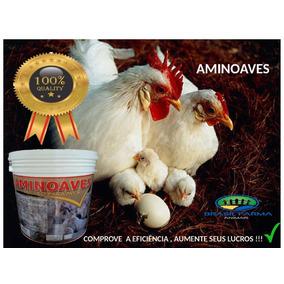 Índio Gigante Aminoaves Maior Produção Ovos Galados Galo10kg