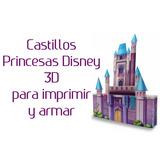 Princesas Y Castillos 3d Kit Imprimible + Regalos