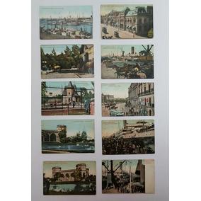 Coleção Cartões Postais Raros Antigos Da Argentina Lote 5