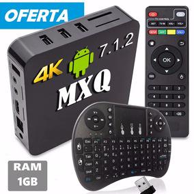 Tv Box 4k Android Smart Com Mini Teclado Wireless