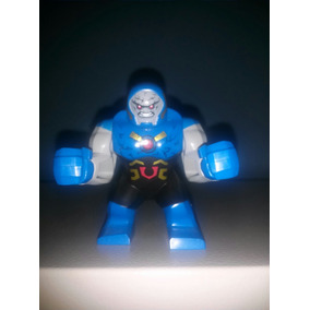 Personagem Lego - Superman Gigante Azul Com 7,5cm De Altura