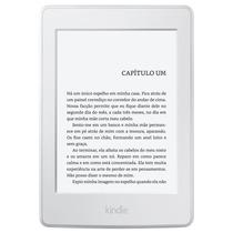 E-reader Kindle Paperwhite Branco 6 Wifi 4 Gb Com Iluminaçã