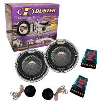 Kit 2 Vias H-buster 5 Pol. 100w Rms (total) Modelo Mb-510