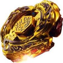 Beyblade Ferro Ldrago Gold Com Lançador 2 Ponteiras Metal