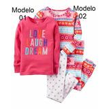 Pijama Carters De Niñas Originales Talla 5t Modelo 02