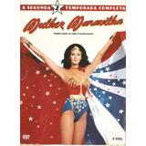 Dvd Box Mulher Maravilha - Segunda Temporada Completa- Usado