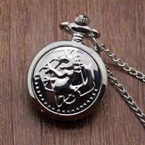 Relógio Dos Alquimistas Federais - Fullmetal Alchemist- Inox