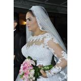 Vende-se Vestido De Noiva (valor Negociável)