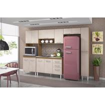 Cozinha Modulada Com Balcão Armário Karen - Peternella