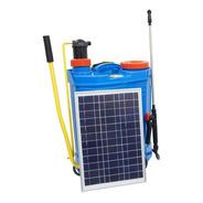 Pulverizador Costal Elétrico Com Painel Solar 20l Bateria
