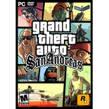 Grand Theft Auto: San Andreas - Pc Físico - 1 Dvd - Envíos