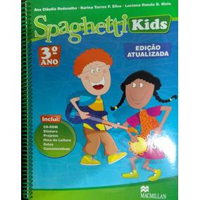 Livro Inglês Spaghetti Kids 3º Ano - 4ª Edição 2008