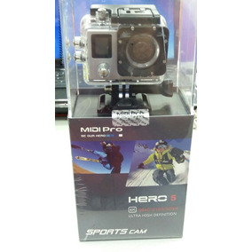 Câmera Ação Filma Midi Pro Hero 5 Black 4k Lcd Wifi 1080p