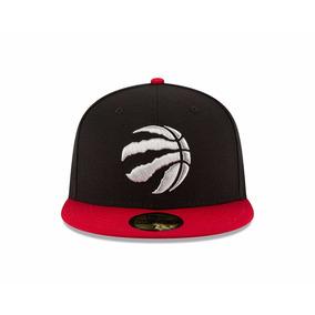 Gorra New Era 7 1/4 Nba Toronto Raptors 5950 Negro / Rojo