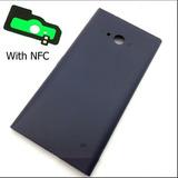 Tapa Trasera Negra Para Lumia Nokia 730 735 Con Nfc --