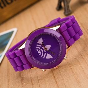 dff26ed05cc Relógio adidas Pulseira De Silicone Feminino Varias Cores