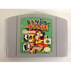 Banjo Tooie Not For Resale , Nintendo 64 N64l , Confira!!!