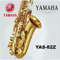 Sax Alto Yamaha Yas 82z Ziel Zero Novo