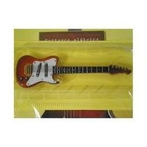 Guitarra Eletrica Colecao Instrumentos Musicais Salvat 15 Cm
