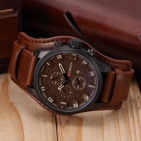 6ee90d8b358 Kit Com 4 Relógis Curren Original De Alta Qualidade Em Couro. R  360. 12x R   34. Frete grátis
