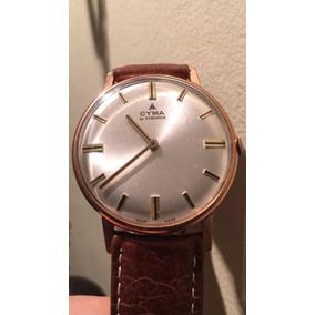 Hermoso Reloj Cyma De Coleccion