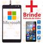 Tela Touch Nokia Lumia 535 N535 Ct2s Rm1092 + Pelicula Vidro