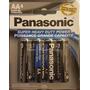 Bateria Panasonic Aaa Y Aa En 4 Pilas Blister Liquidacion