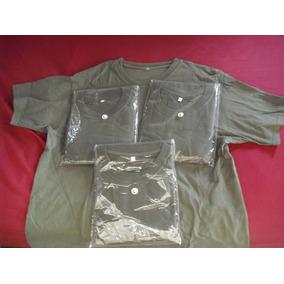 Franelas Verde Militar