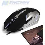 Combo Mouse Gamer + Mouse Pad Gamer Wesdar, Edición Especial