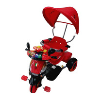 Triciclo Infantil Bebe Musical Luces Sonidos Baby Shopping