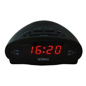 51d4ea7de57 Radio Lelong Le 604 - Rádio Relógio Despertador no Mercado Livre Brasil