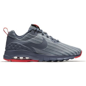 69eace0e0 Tenis Nike Feminino Air Max Motion Low Cinza Red Original