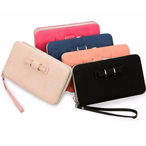 10 Carteras Porta Celular Iphone Samsung Lg Clutch Mayoreo