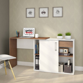 Escrivaninha 1 Porta Flex Montagem Treviso Web Gebb Hgwt