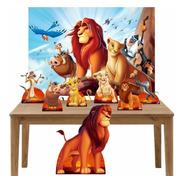 Rei Leão Kit Festa Totens Display Painel  12x S/ Juros