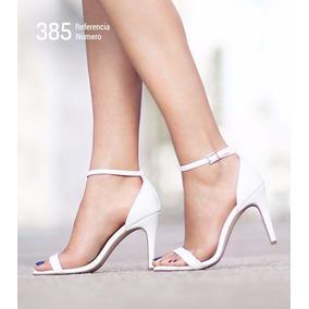 Sandálias Femininas De Salto Alto Estilo Importada Ref: 485