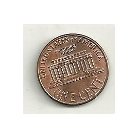 1 Cent (casa Branca) - Estados Unidos - Vários Anos