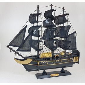 Fragata Decorativa Pirata 33 Cm. Barco Miniatura