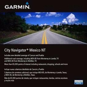 Nuevo Gps Mapa Garmin City Navigator Mexico Nt 2018.20 Nuvi