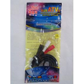 Cable Plus A 2rca 1.5metro Tipo Dorado Alta Calidad