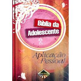Bíblia Adolescente - Aplicação Pessoal - Ilustrada Rosa