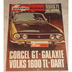 Revista Quatro Rodas Nº 124 - Nov/1970 - Corcel Gt / Galaxie