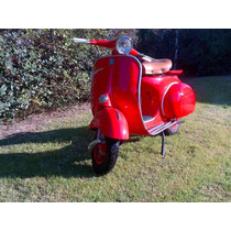 Vespa 150 Cc Año 1962 1963 Impecable