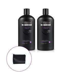 Tresemmé Control Caída Cabello Shampoo 750ml X2 + Regalo